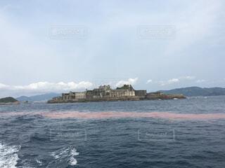 軍艦島の写真・画像素材[1027497]