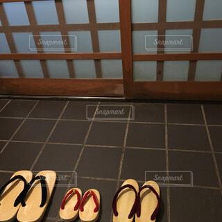 温泉宿と下駄の写真・画像素材[1717660]