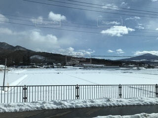 雪化粧の写真・画像素材[1720164]