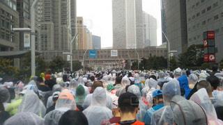 東京マラソン2019スタート前の写真・画像素材[3089893]
