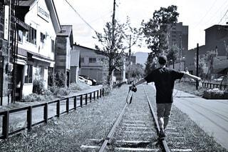 線路の写真・画像素材[1717444]