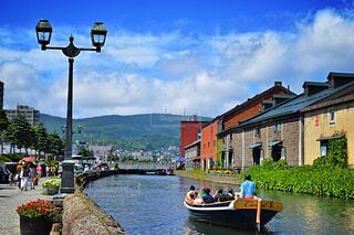 小樽運河の写真・画像素材[1717446]