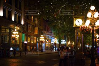 夜のガスタウンの写真・画像素材[1787149]
