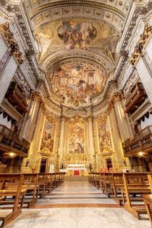 ローマの教会の写真・画像素材[1719113]