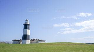 能取岬の灯台の写真・画像素材[1725079]