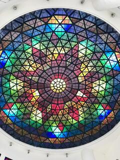 ガラス細工(まるで万華鏡)の写真・画像素材[1723691]