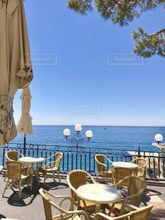 アマルフィ海岸のカフェの写真・画像素材[1732579]