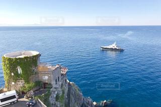 アマルフィ海岸を眺めるの写真・画像素材[1732701]
