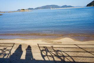 海辺で休憩の写真・画像素材[1756007]