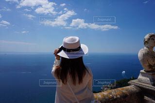 青い空と海の写真・画像素材[1756040]