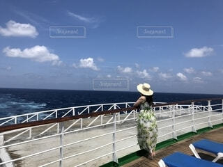 船からの眺めの写真・画像素材[1764469]