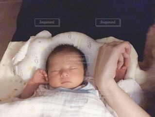赤ちゃんの写真・画像素材[2659986]