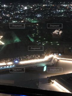 夜の街の景色の写真・画像素材[1718485]