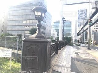 橋とビルの写真・画像素材[1718514]