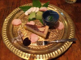 食後のデザートの写真・画像素材[1724382]