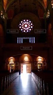教会の光の写真・画像素材[1749292]
