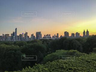 マンハッタンfromセントラルパークの写真・画像素材[1743206]
