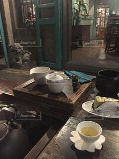 九份の茶藝館の写真・画像素材[1720609]