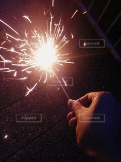 夜空の花火の写真・画像素材[1758550]