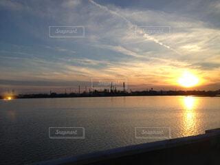 夕焼けの空の写真・画像素材[1720734]