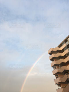 空に虹の写真・画像素材[1721211]