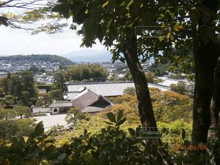 銀閣寺からの眺めの写真・画像素材[1722851]