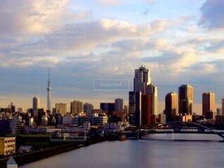 都会に立ち並ぶビルの写真・画像素材[4134849]