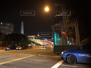 シンガポール 市街地コースの写真・画像素材[1724880]