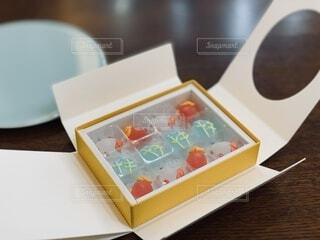 金魚の京菓子の写真・画像素材[4650669]