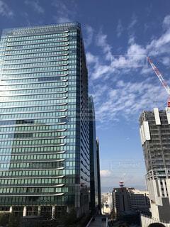 高層ビルの都市の景色の写真・画像素材[1736854]