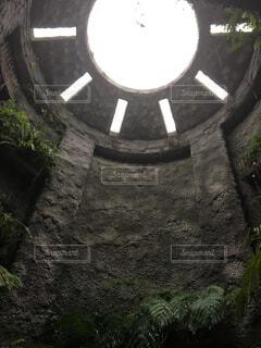 石の壁の表示の写真・画像素材[1726530]