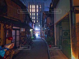 京都の路地裏の写真・画像素材[2344392]