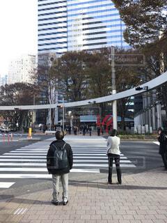 東京 新宿 アイランドタワー付近の写真・画像素材[1727901]