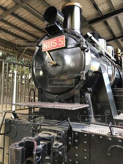 活躍した蒸気機関車の写真・画像素材[1727907]