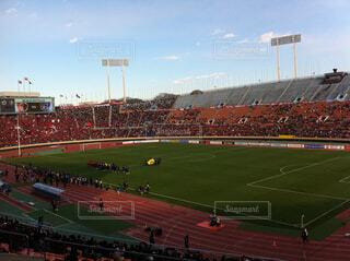 サッカースタジアムの写真・画像素材[1728891]