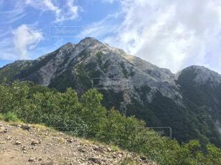 甲斐駒ヶ岳の写真・画像素材[1729024]