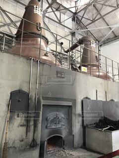 余市 ウイスキー蒸留所の写真・画像素材[1730729]