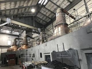 ウイスキー蒸留所の写真・画像素材[1730730]