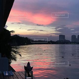 サイゴン川の夕焼けの写真・画像素材[1731492]