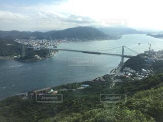 山口県下関の関門海峡の写真・画像素材[1731973]