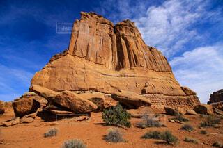 岩と空の写真・画像素材[1750114]