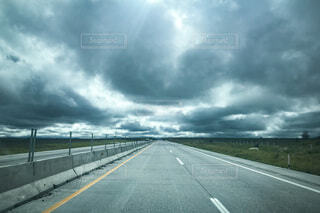 曇り空の写真・画像素材[3326649]