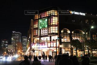 横浜夜の街景色〜クリスマス〜の写真・画像素材[1733534]
