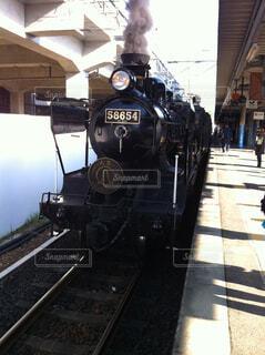 SL機関車の写真・画像素材[1738981]