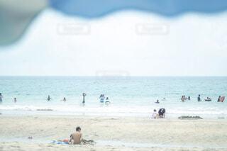 海水浴をする人々の写真・画像素材[1808973]