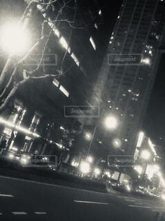 夜景の街並みの写真・画像素材[1738709]