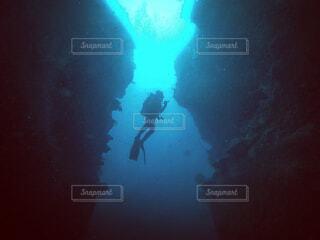 ダイナミックな海の世界の写真・画像素材[1734933]