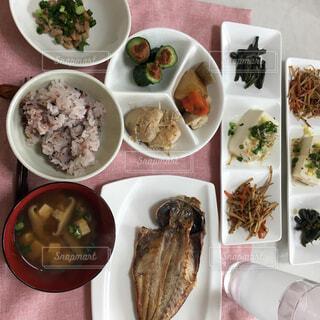 和食の朝食の写真・画像素材[2615369]