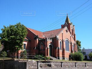 タスマニア島の教会の写真・画像素材[1737365]