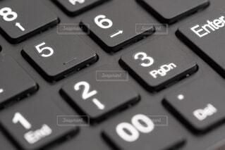 電卓のクローズアップの写真・画像素材[2437624]